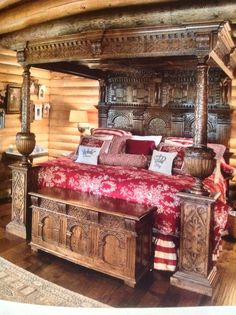 Oh my. That bed! - (no Link)
