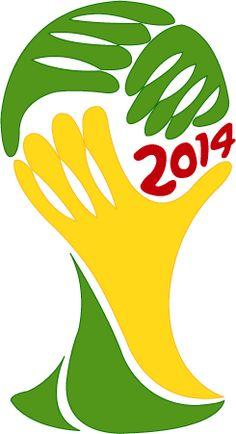 Logo de la copa Brasil 2014.