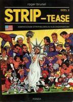 Strip-tease 2 Amerikaanse helden in hun onderbroek - stripinfo.be