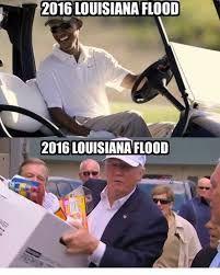 Image result for louisiana 2016 flood obama's response