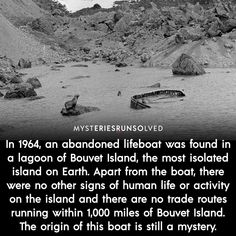 Mysteries Of The World, Ancient Mysteries, Wow Facts, Wtf Fun Facts, What The Fact, Interesting Facts About World, Mind Blowing Facts, Creepy Stories, Strange Places