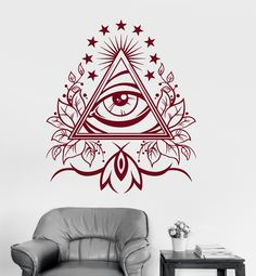 All Seeing Eye Pyramid Symbol Providence Coin Pouch Clutch Purse Wristlet Wallet Phone Card Holder Handbag