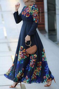 Alia Modest Dress - - Alia Modest Dress Source by gallioina Modest Long Dresses, Modest Maxi Dress, Best Maxi Dresses, Cape Dress, Casual Dresses, Hijab Casual, Hijab Dress, Shirt Dress, Muslim Women Fashion