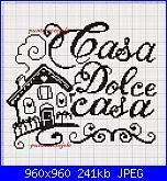 Welcome - Casa dolce casa - Home sweet home*- schemi e link-casa-grafico-jpg