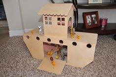 Michael Francis T. Designed Noah's ark