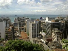 Salvador - A cidade Baixa do Pelourinho.