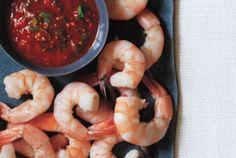 Shrimp With Spiced Cocktail Sauce