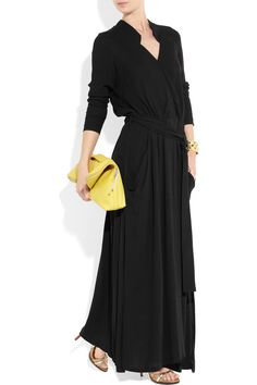 but with sandals or black ballet flats and giant black chandelier earrings : )