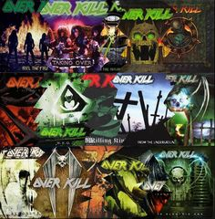 Overkill Band, Rotten To The Core, Thrash Metal, Metal Pins, Good Music, Heavy Metal, Rock, Wallpaper, School