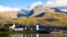 The Caledonian Canal with Ben Nevis in background (Credit: Credit: Simon Butterworth/Getty Images)
