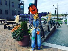 Spotted in Keyport: lots of Halloween-themed scarecrows that are getting us excited for the end of the month! How is your town celebrating?