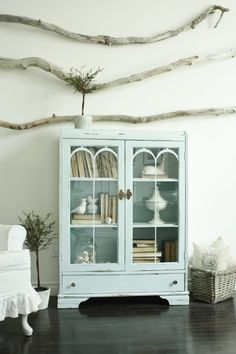 ... in the fun lane: Blue Cabinet blues
