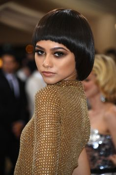 Met Gala 2016 Hair and Beauty: From Lupita to Zendaya - Zendaya-Wmag