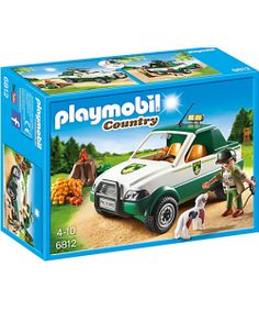 PLAYMOBIL ® 6812 PICK UP DEL GUARDABOSQUES