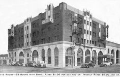 The Dunbar Hotel in South Central Los Angeles by aaprlore, via Flickr    4225 S Central Ave  Los Angeles, CA 90011