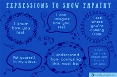 Expressions to Show Empathy, Learn Elegant English with Efi. Learn English Online.