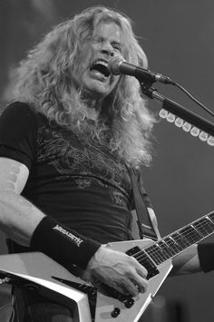 Dave Mustaine/Megadeth.