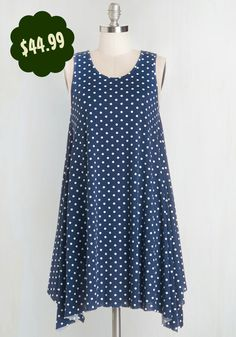 Flowy polka dot dressMore forest fashion at the Forest Shoppe