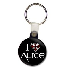 Resident Evil - I Hear Alice Keychain Resident Evil Franchise, Ugly Americans, Natural Born Killers, John Malkovich, Fear And Loathing, Epic Movie, Game & Watch, Kill Bill, Close To My Heart