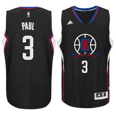 adidas Chris Paul Los Angeles Clippers Black Swingman climacool Jersey Nba ff8cd59f0