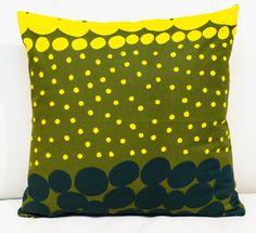Unique Marimekko Pillow cover  16 x 16 Pattern by PantsandPillows