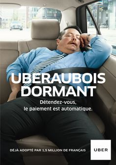 [Pub] Uber et Moi, la campagne print humouristique de Uber