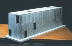 Herzog & de Meuron - Art Box Bonn, Museum for the Grothe Collection, 1996