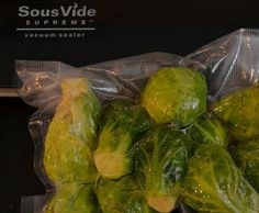 Garlicky Grilled Brussels Sprouts (Sous Vide)