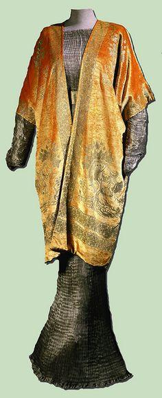 Mariano Fortuny, Venice, Delphos dress and jacket, c. 1912-20.