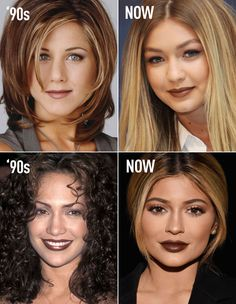 BROWN LIPSTICK: These vintage and modern photos and beauty looks will totally ~inspire~ you! Learn how 90s stars like Jennifer Aniston and Jennifer Lopez rocked the trend, and how it-girls Gigi Hadid and Kylie Jenner are wearing the trend now. Brown is sOoOo the new black and here's the proof!