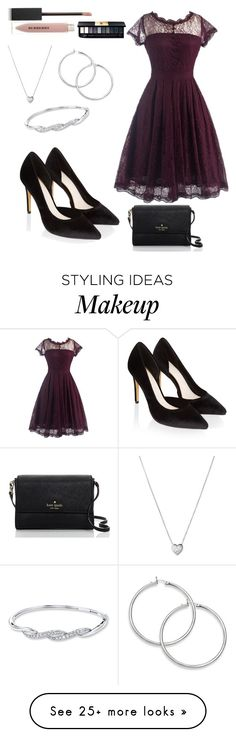 """""""Untitled #280"""" by anicka-duskova on Polyvore featuring Monsoon, Links of London, Kate Spade and Burberry"""