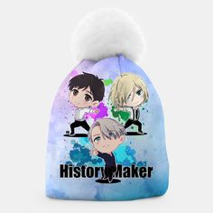 Yuri On Ice History Maker Beanie