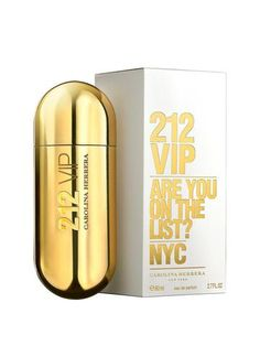 Carolina Herrera 212 VIP 80ml EDP Spray Ladies