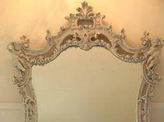 Lustro Barokowe w Stylu Ludwika XV