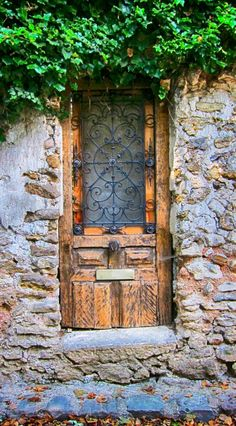 ₪portas - Crécy-la-Chapelle, Seine-et-Marne, France Grand Entrance, Entrance Doors, Doorway, Cool Doors, Unique Doors, Portal, When One Door Closes, Door Entryway, Knobs And Knockers