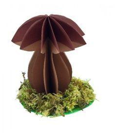 3D hříbek - návod na výrobu podzimní dekorace / 3D muschroom - how to make an autumn decoration
