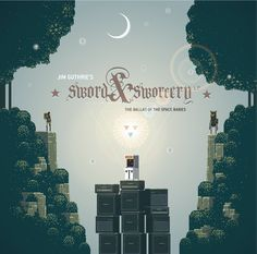 Sword & Sworcery LP - The Ballad of the Space Babies, by Jim Guthrie. Delicate soundtrack to the Sword & Sworcery game by Superbrothers.