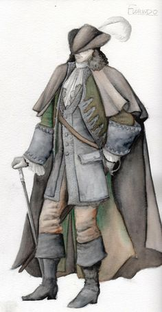 Florindo-Costume Rendering by ScottAronow.deviantart.com on @deviantART