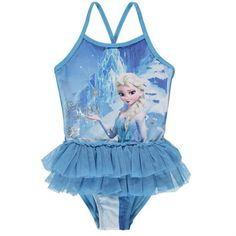 8652ed3cfd Girls Disney Frozen Elsa Swimsuit Frozen Outfits