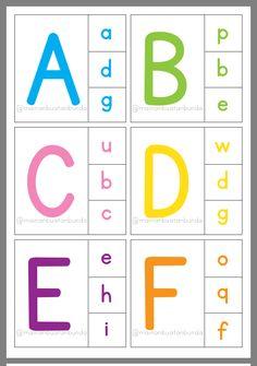 Worksheets Preschool, Alphabet Games For Kindergarten, Fun Worksheets For Kids, Alphabet Phonics, Kindergarten Coloring Pages, Kindergarten Learning, Teaching Phonics, Preschool Learning Activities, Alphabet Activities
