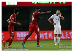 Gyan scores to propel Shanghai SIPG to victory