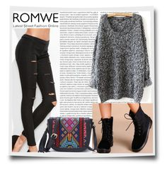 """#10/4 Romwe"" by almira-mustafic ❤ liked on Polyvore featuring Oris"
