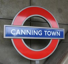 Canning Town London Underground and DLR Station in London, Greater London
