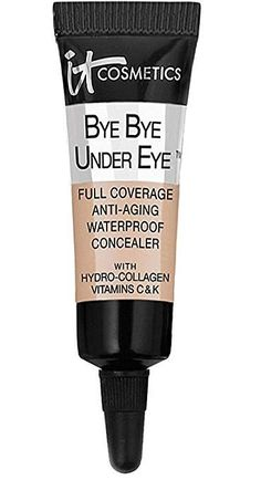 It Cosmetics Bye Under Eye Full Coverage Anti-Aging Waterproof Concealer in. Product Details Shipping Weight: ounces It Cosmetics Bye Bye Under Eye Full C Waterproof Concealer, Best Concealer, Under Eye Concealer, Under Eye Fillers, Travel Size Makeup, How To Apply Mascara, Anti Aging Treatments, Best Makeup Products, Beauty Products