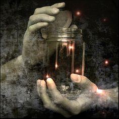Magic lantern jar - This Ivy House