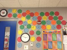 Smiles for Teachers: Algebraic Expressions Clock Face I want to use this for back to school night decorations