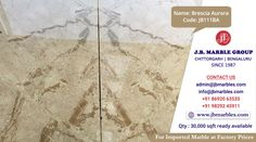JB Marble Group Chittorgarh | Bengaluru Name of Product : Brescia Aurora (Imported Marble) Code: JB111BA Marble, Coding, Names, Marbles, Programming