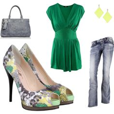 It's all in the heels, created by stef-coss on Polyvore