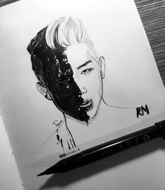 namjoon fanart | ♡
