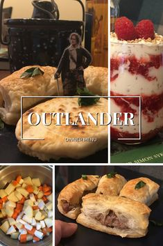 For your next viewing party, get our Outlander dinner menu and recipes that come straight from Scotland. Ach, their bonny wee treats! Outlander Dinner Menu and Recipes - Outlander Dinner Menu and Recipes Scottish Dishes, Scottish Recipes, Irish Recipes, Outlander Wedding, Dinner Themes, Dinner Menu, Outlander Recipes, Traditional Scottish Food, Good Food